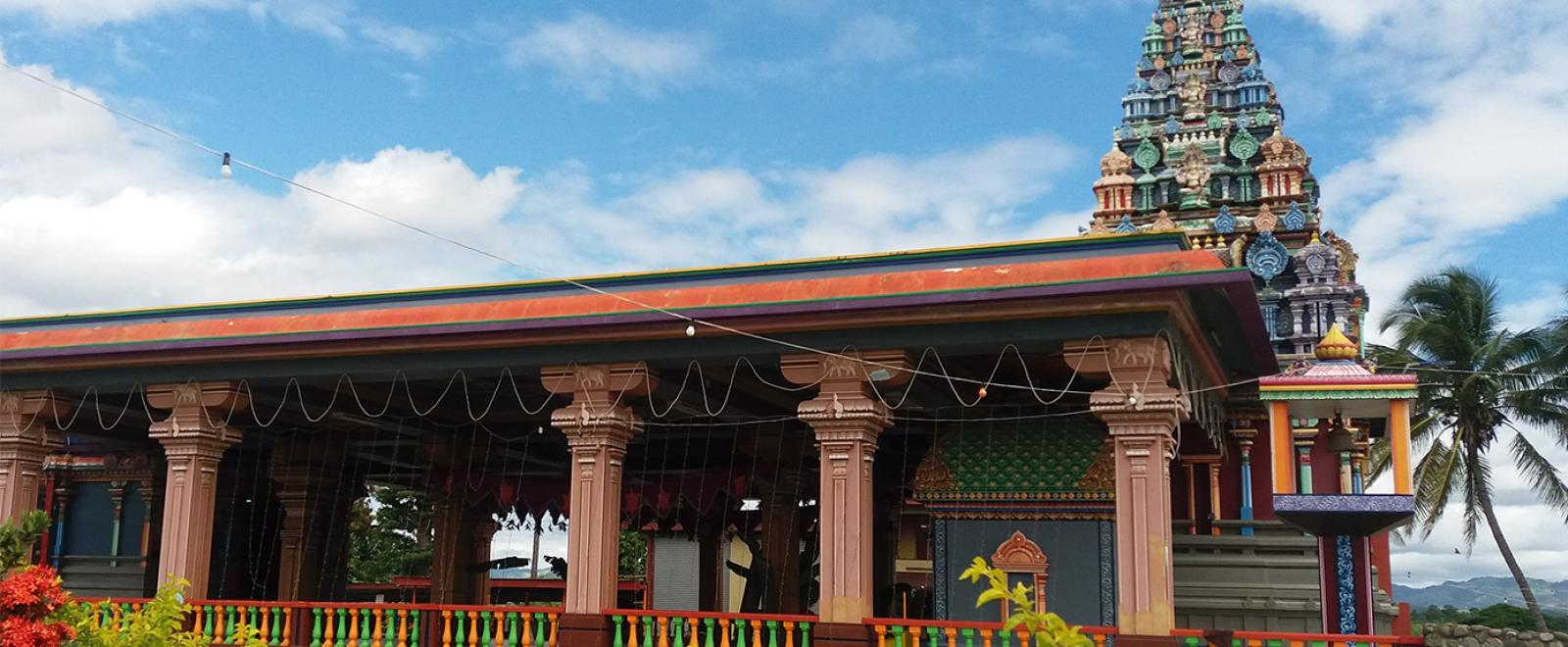 A Hindu temple in Nadi, a town where Projects Abroad volunteer projects are based.